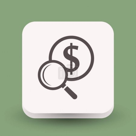 design of money icon