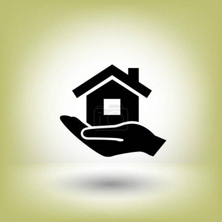 design of home icon