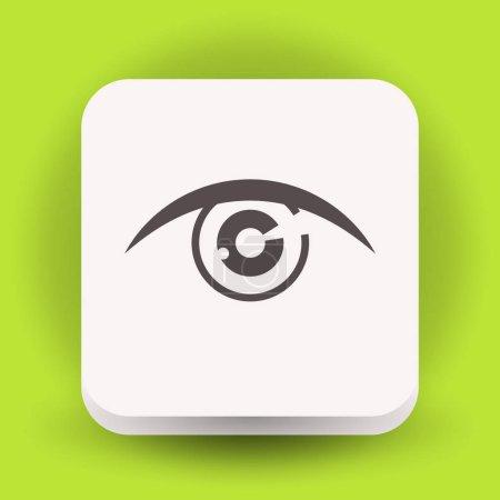 simple eye icon