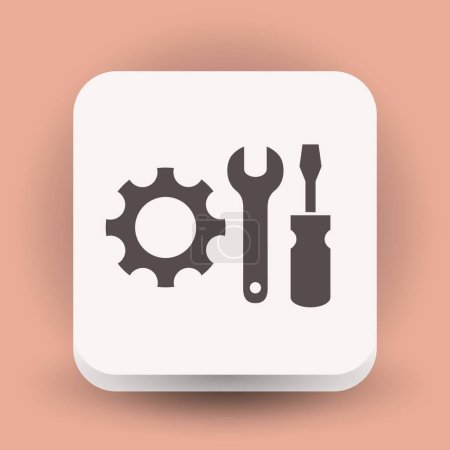 design of gear icon