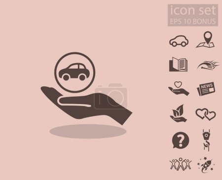 design of car icon