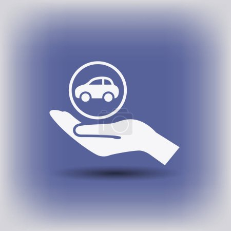design of car icon
