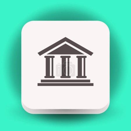 icono de edificio Banco