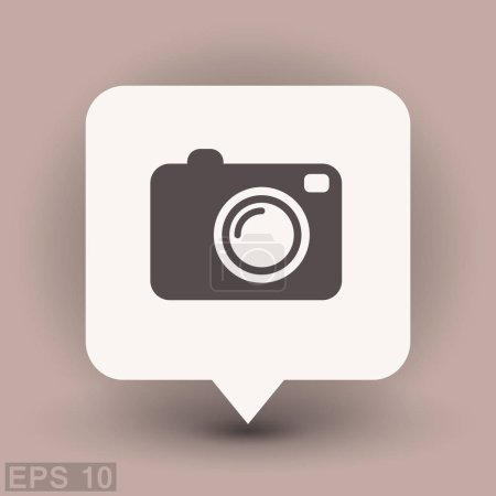 Pictograph of photo camera