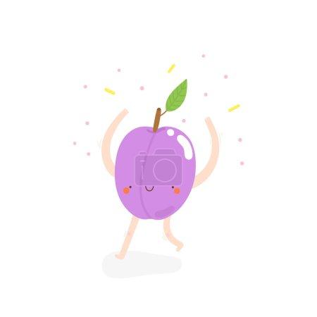 dancing plum drawing