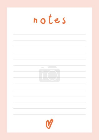 white notebook sheet with horizontal lines