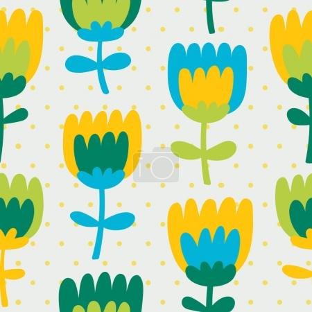 Simple and fun Floral pattern