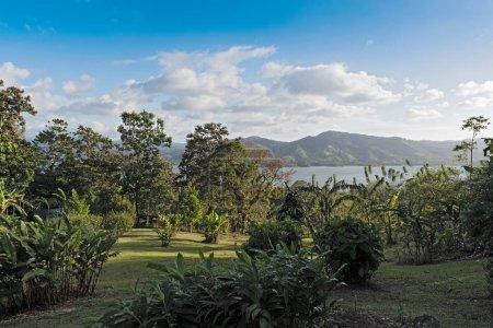 Landscape above the Lake Arenal at La Fortuna, Costa Rica