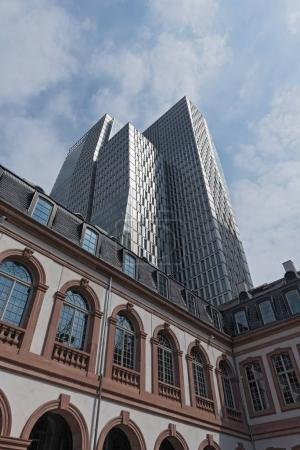 The buildings of the Palais Thurn and Taxis in the city center of Frankfurt, Germany
