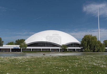 The Concert and Congress Hall Jahrhunderthalle Frankfurt-Hoechst