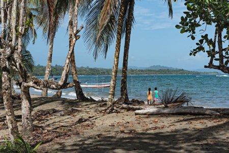 Beach in Puerto Viejo, Costa Rica