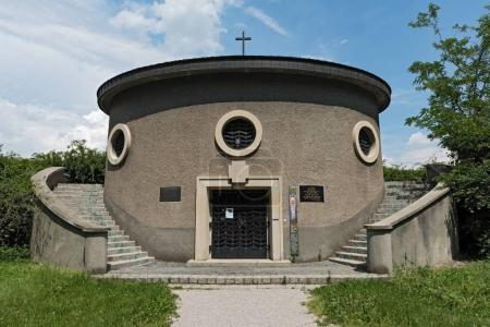 Chapel in the cemetery of the nameless in Vienna, Austria