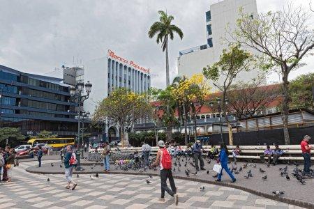 The Plaza Juan Mora Fernandez in San Jose, Costa Rica
