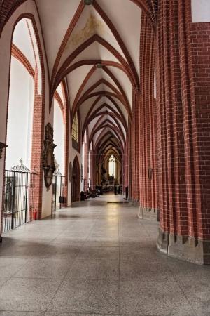 Gothic St. Mary Magdalene Church in Wroclaw, Poland