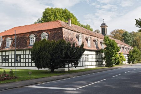 The hunting castle Moenchbruch, Hesse, Germany