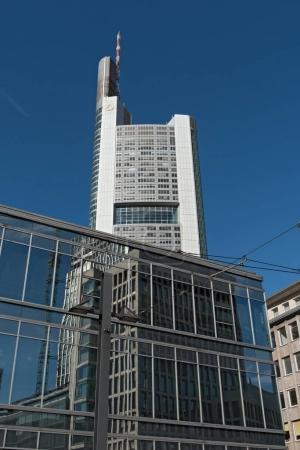Commerzbank skyscraper in Frankfurt, Germany