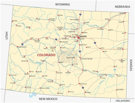 colorado road map