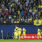 VILLARREAL, SPAIN - OCTOBER 16th: Villarreal team ...