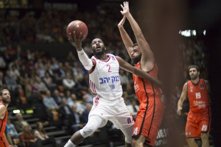 Valencia Basket vs Jerusalem basketball game