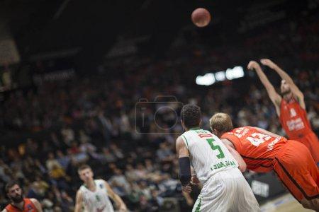 Valencia Basket and Union Olimpija Ljubljana