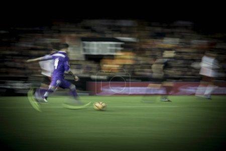 Ramos with ball during La Liga