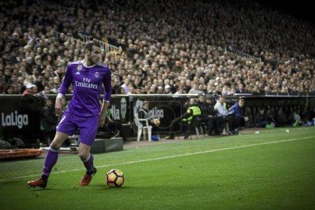 Gareth Bale during La Liga
