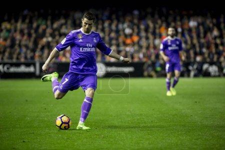 Cristiano Ronaldo during La Liga