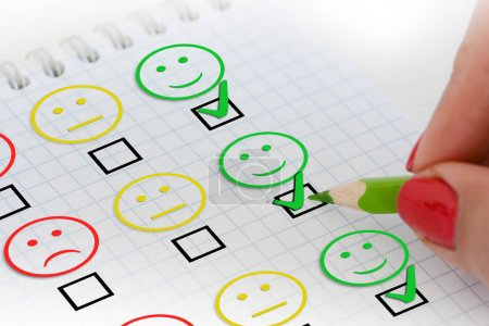 Customer satisfaction survey or questionnaire