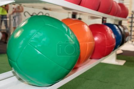 Colorful Fitness Medicine Balls