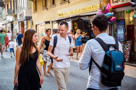 Верона Италия 24 Июля 2015