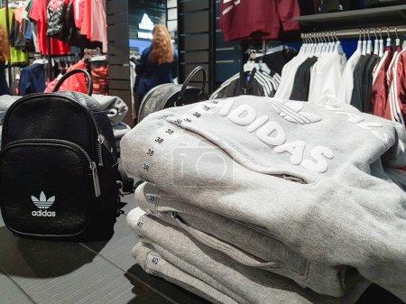 Trendy Adidas sportswear