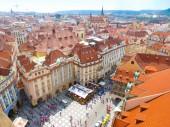 Prague, Czech republic - 4.09.2017: Old Town Square in Prague