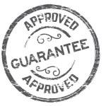 Guarantee icon vintage rubber stamp guarantee...