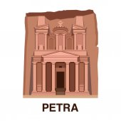 One of New 7 wonders of the world: Petra