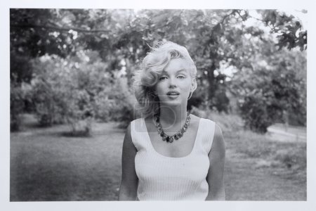 Marilyn Monroe photographed by Sam Shaw,1957. Exhi...