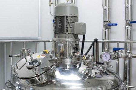 steel chromed high-pressure compressor