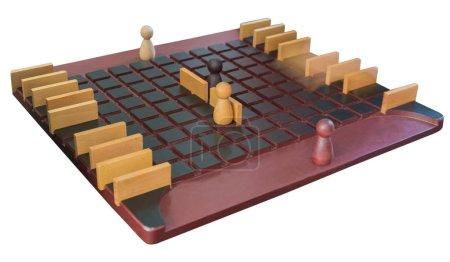 board game wooden figures