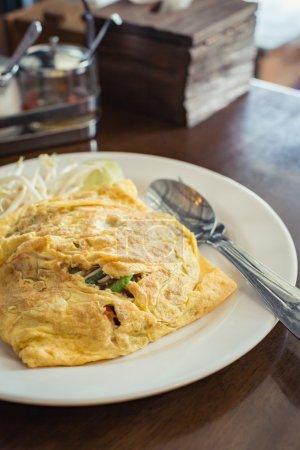 Fried noodle Thai style ,Padthai.