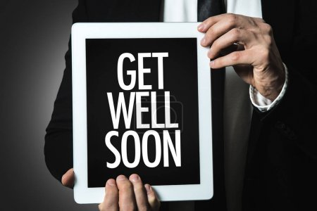 inscription Get Well Soon