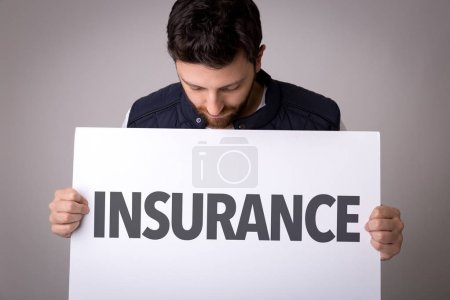 paper with sign insurance