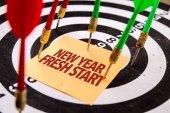 inscription new year fresh start