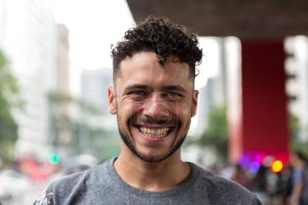 Foto de Retrato de un hombre mirando a la cámara - Imagen libre de derechos