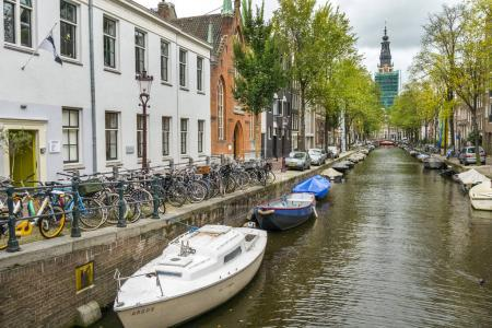 Amsterdam streets at day time
