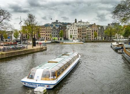 Boats on Amsterdam chanel
