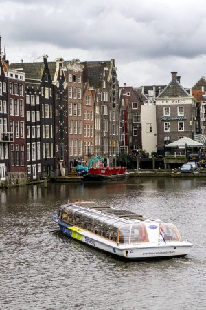Boat on Amsterdam chanel