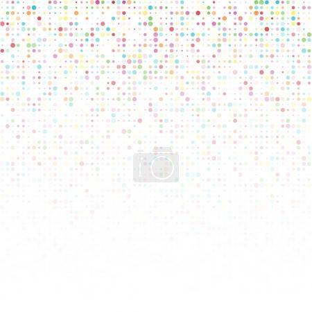 Photo pour Abstrait blanc avec cercles transparents de couleur - image libre de droit