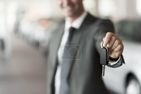 Your new car keys