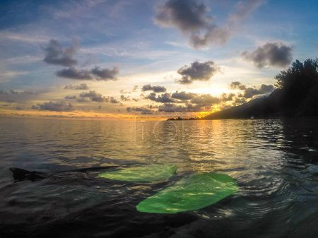 Stand up paddle in Bora