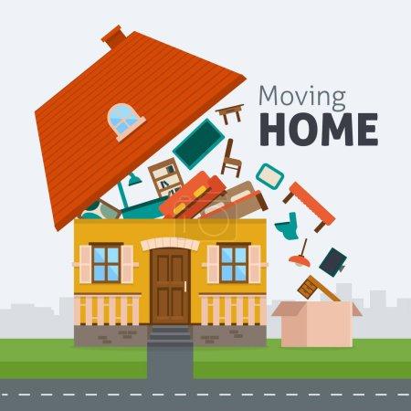 Moving home transportation