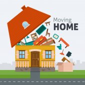 Moving home transportation